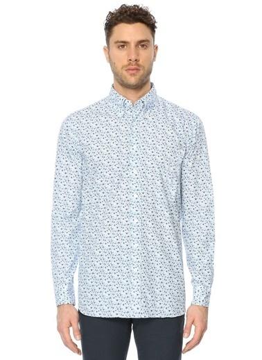 Desenli Uzun Kollu Gömlek-Lardini